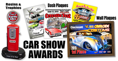 ProGraphics Signs Awards Dash Plaques Name Badges And More - Car show plaques